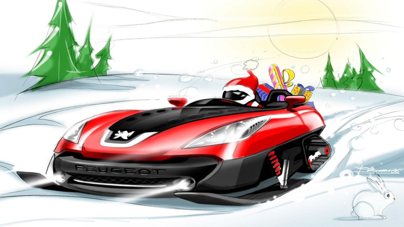 Peugeot sledge