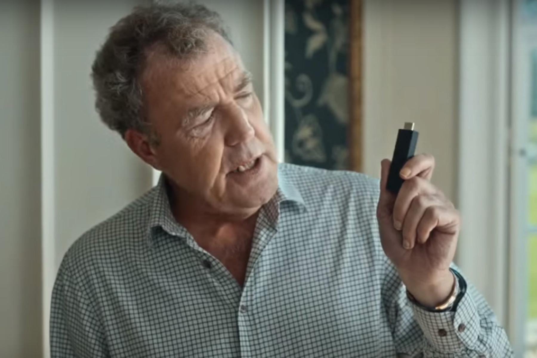 Jeremy Clarkson faces Twitter backlash over Amazon Fire TV advert