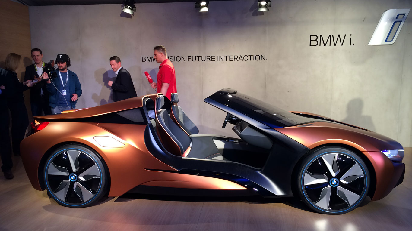 smart car bmw s vision of tomorrow s high tech car in pictures motoring research. Black Bedroom Furniture Sets. Home Design Ideas