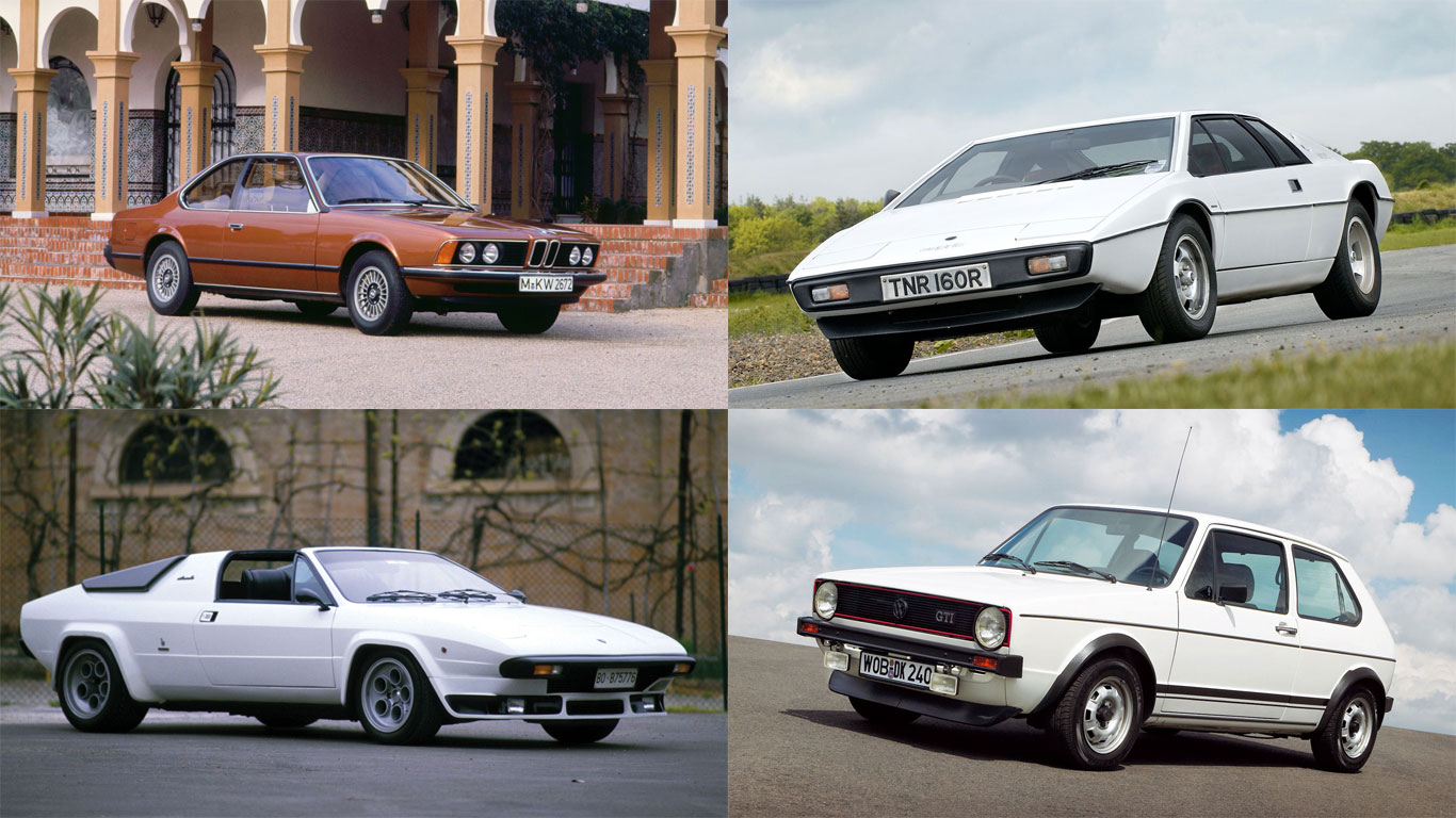Life begins at 40: cars celebrating their 40th birthday in 2016