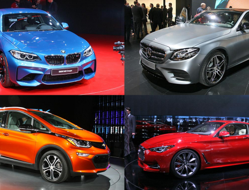 The exciting new cars of the 2016 Detroit Motor Show