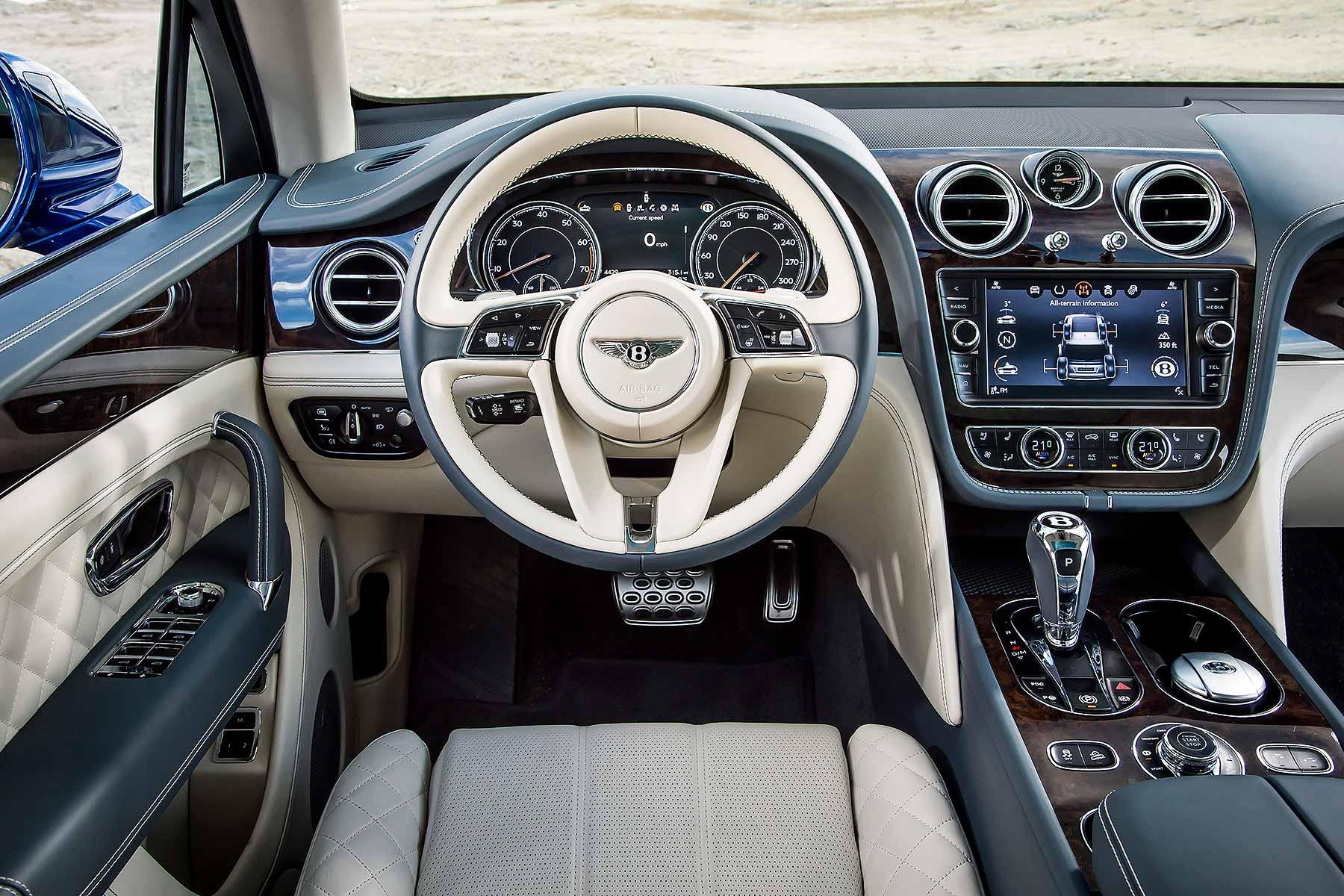 Bentley Bentayga Review 2016 First Drive Motoring Research