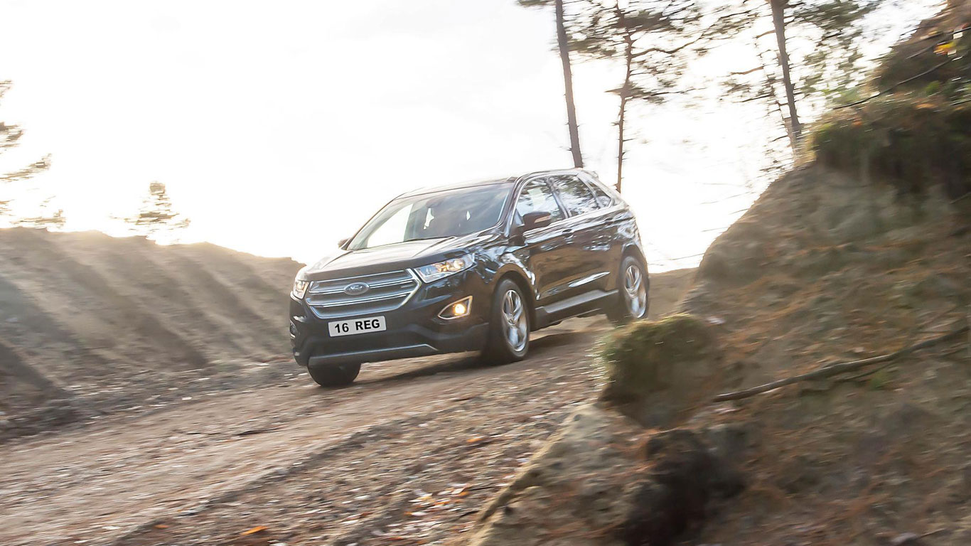 Ford Edge SUV off-road