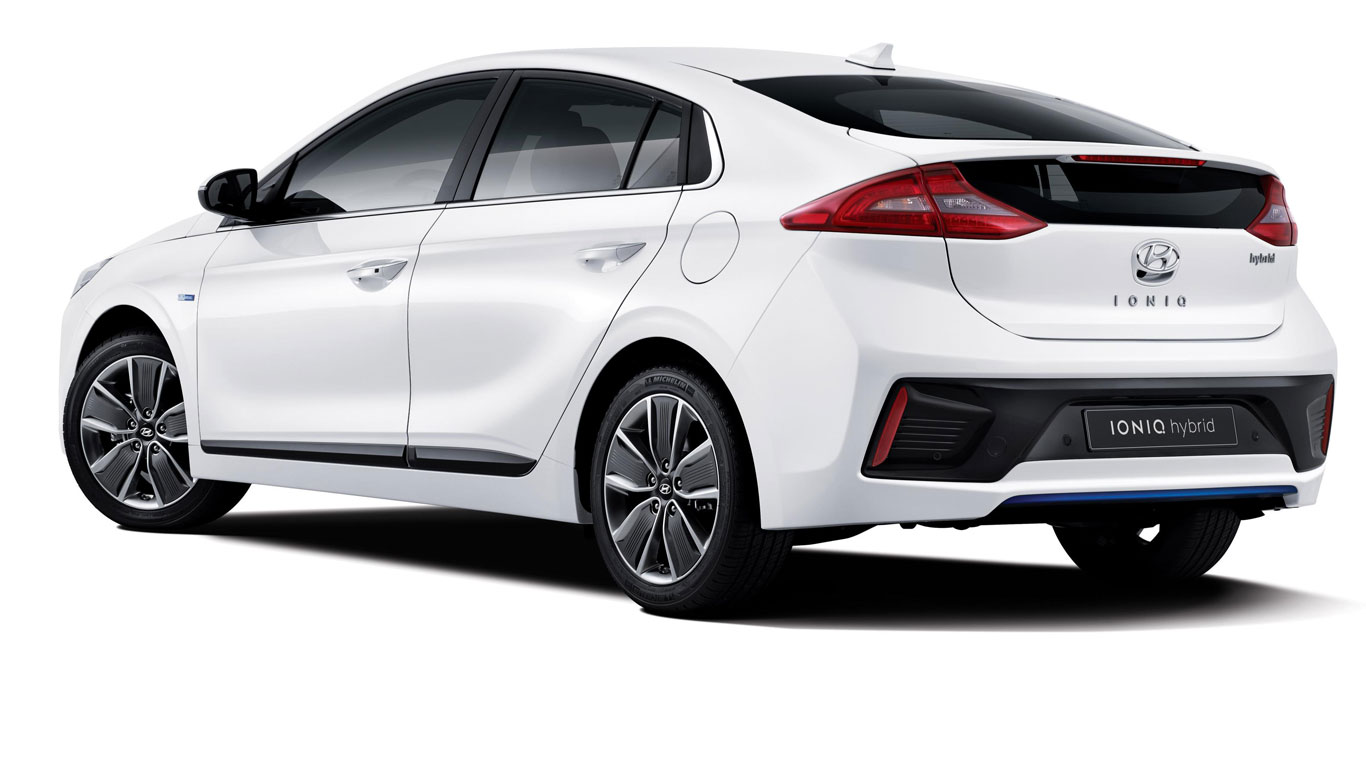 If The Adventurous Styling Of Third Generation Toyota Prius Is A Little Too Much For You Take Look At All New Hyundai Ioniq