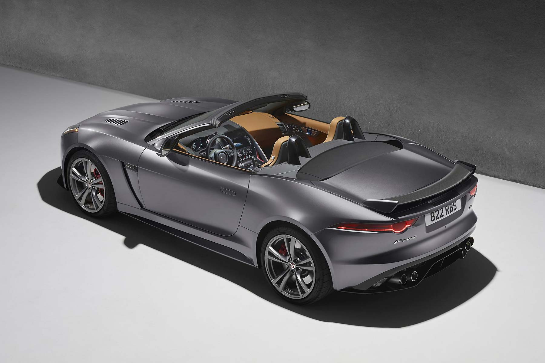 Jaguar F-Type SVR Convertible 2016