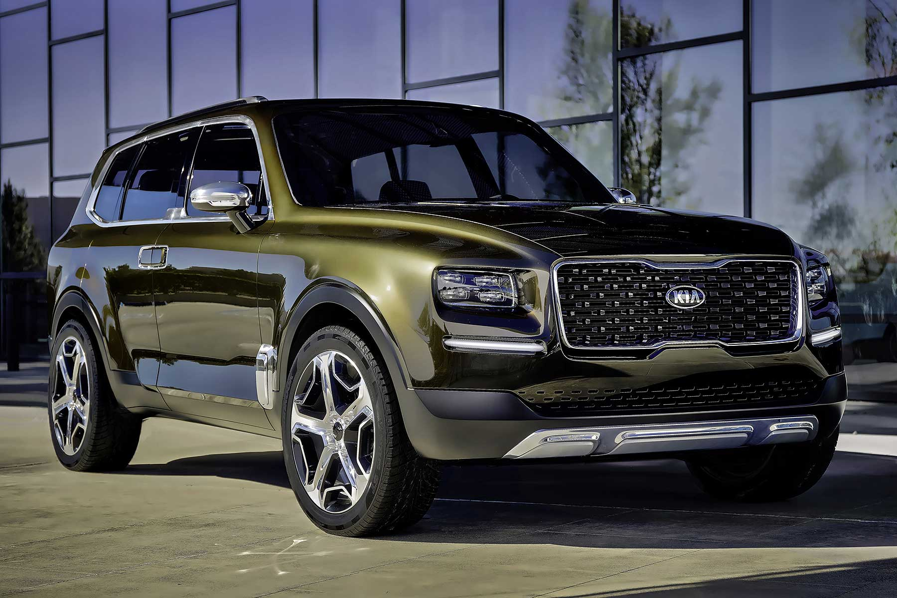 Detroit 2016 Kia Telluride Hints At New Luxury Suv