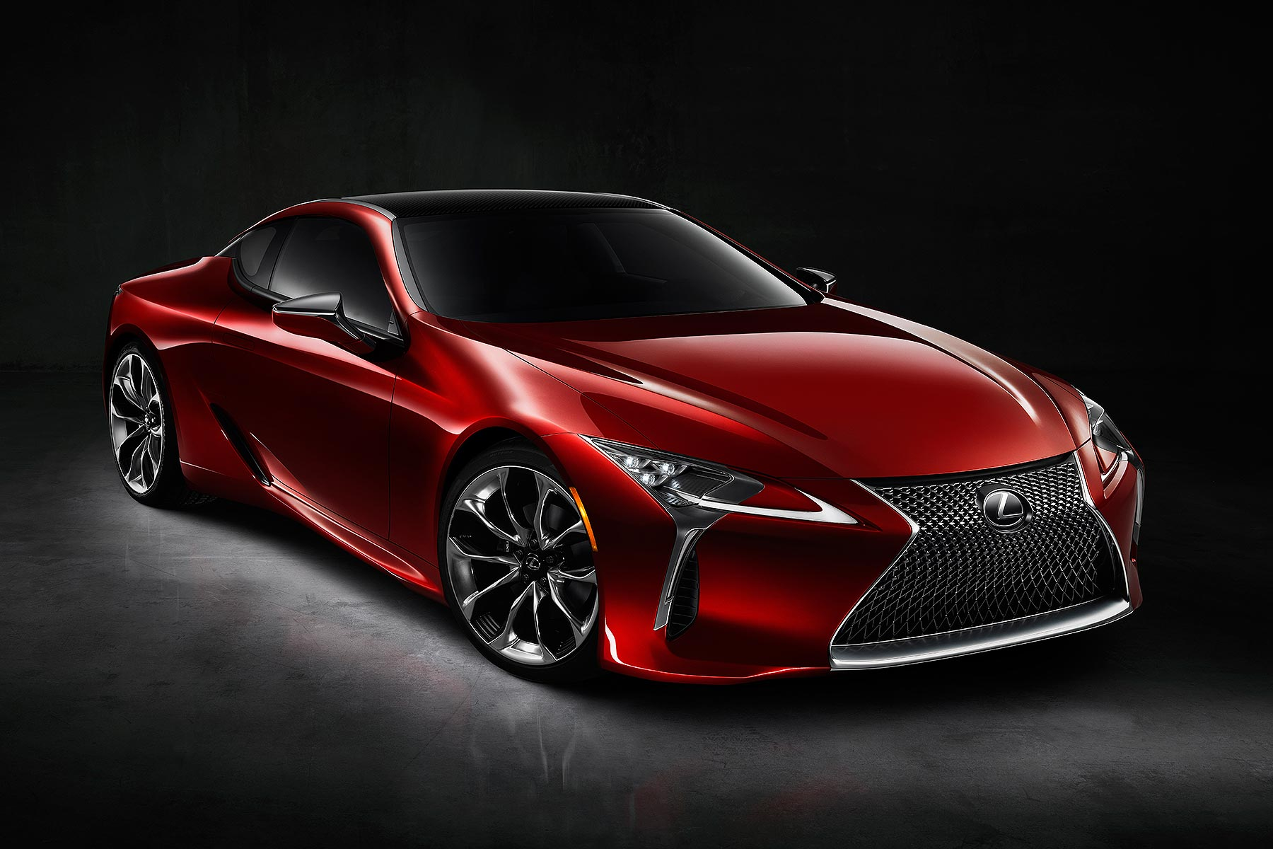 detroit 2016 lexus lc 500 luxury coupe revealed at naias motoring research. Black Bedroom Furniture Sets. Home Design Ideas