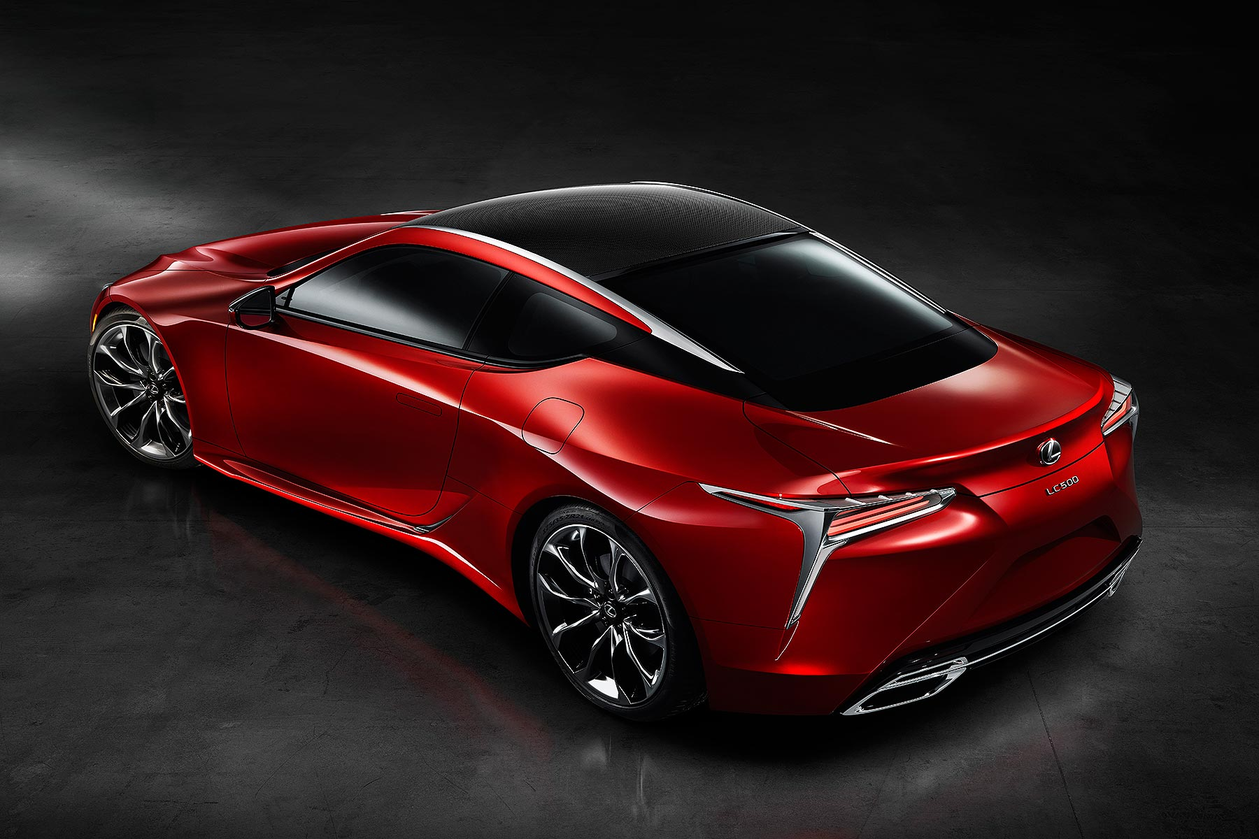 Detroit 2016: Lexus LC 500 luxury coupe revealed at NAIAS ...