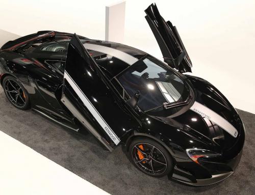 CES 2016: Surprise McLaren 675LT JVCKENWOOD Concept debuts