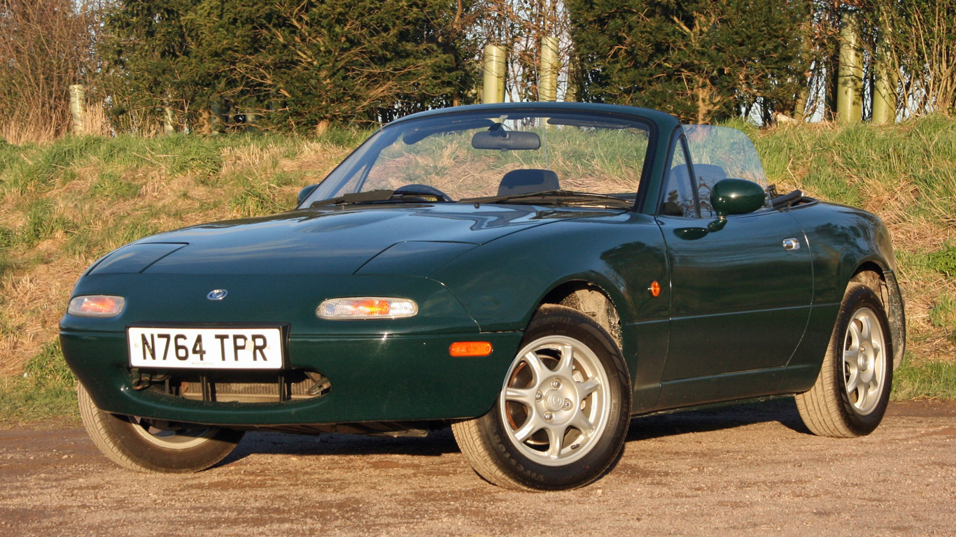 Retro Road Test: Mk1 Mazda MX-5 1.8
