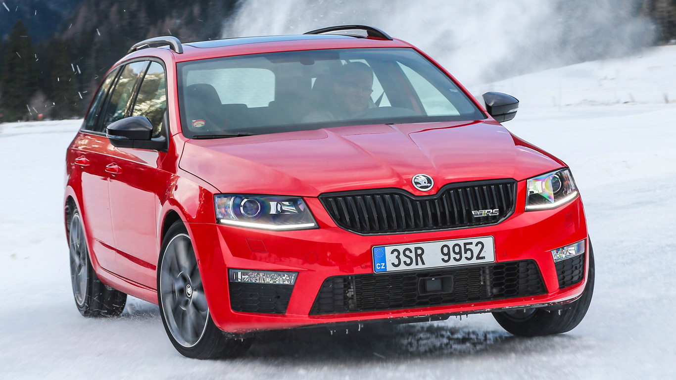 skoda octavia 4x4 vrs two minute road test winter special motoring research. Black Bedroom Furniture Sets. Home Design Ideas