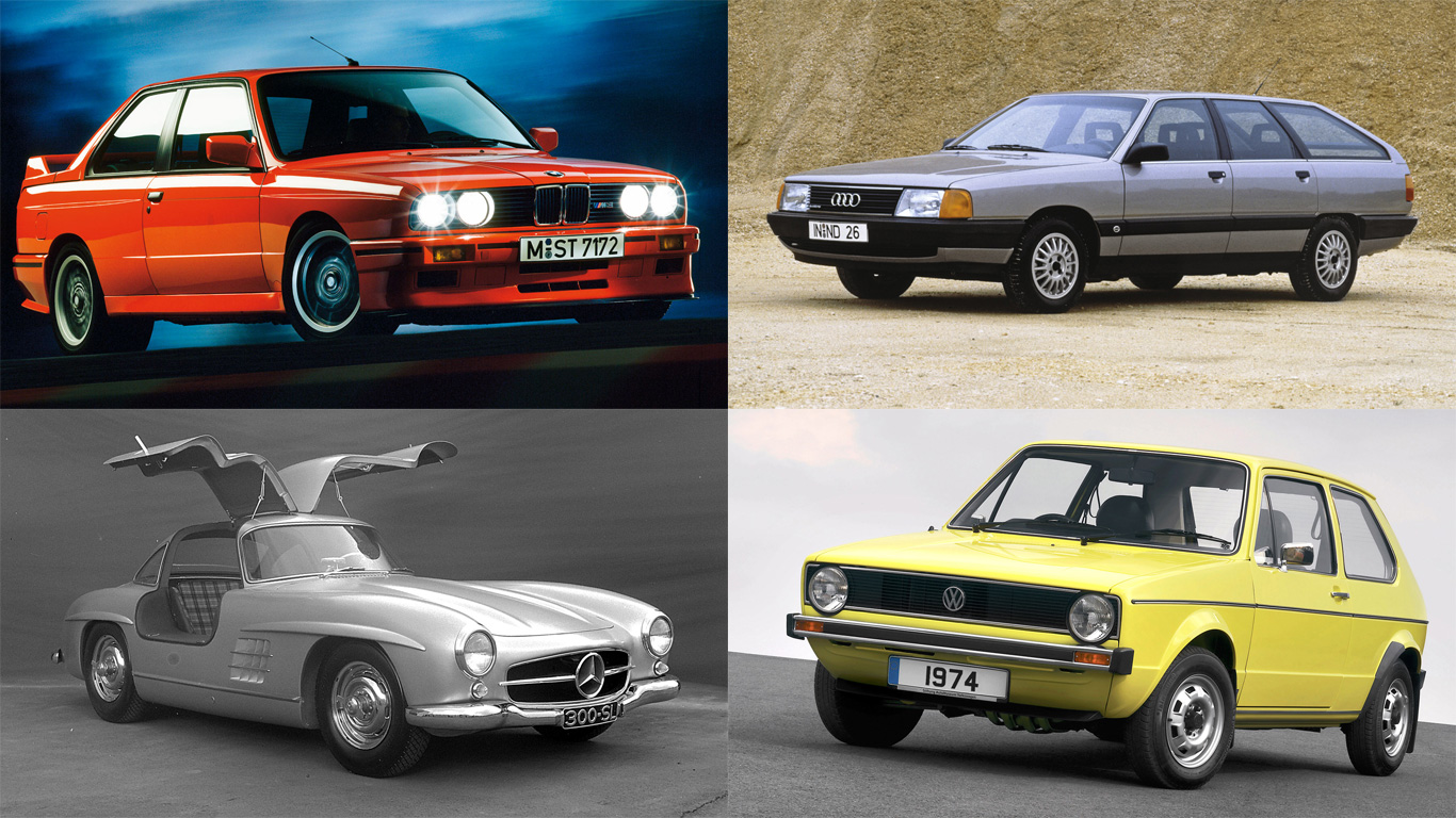 The Top 100 German Cars Of All Time Motoring Research