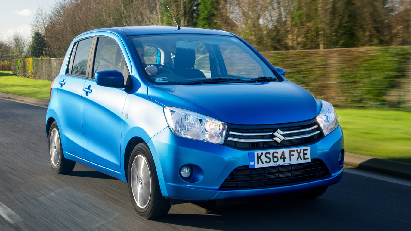 Suzuki Celerio 1.0 SZ3 Dualjet: Two-Minute Road Test