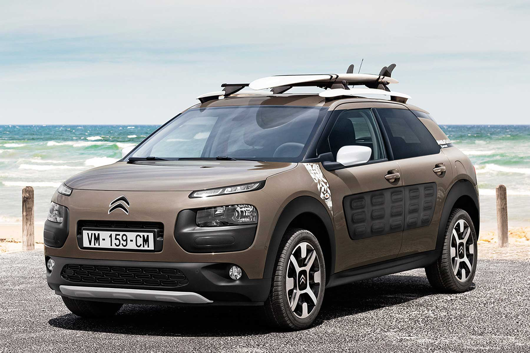 surf 39 s up citroen c4 cactus rip curl edition revealed motoring research. Black Bedroom Furniture Sets. Home Design Ideas