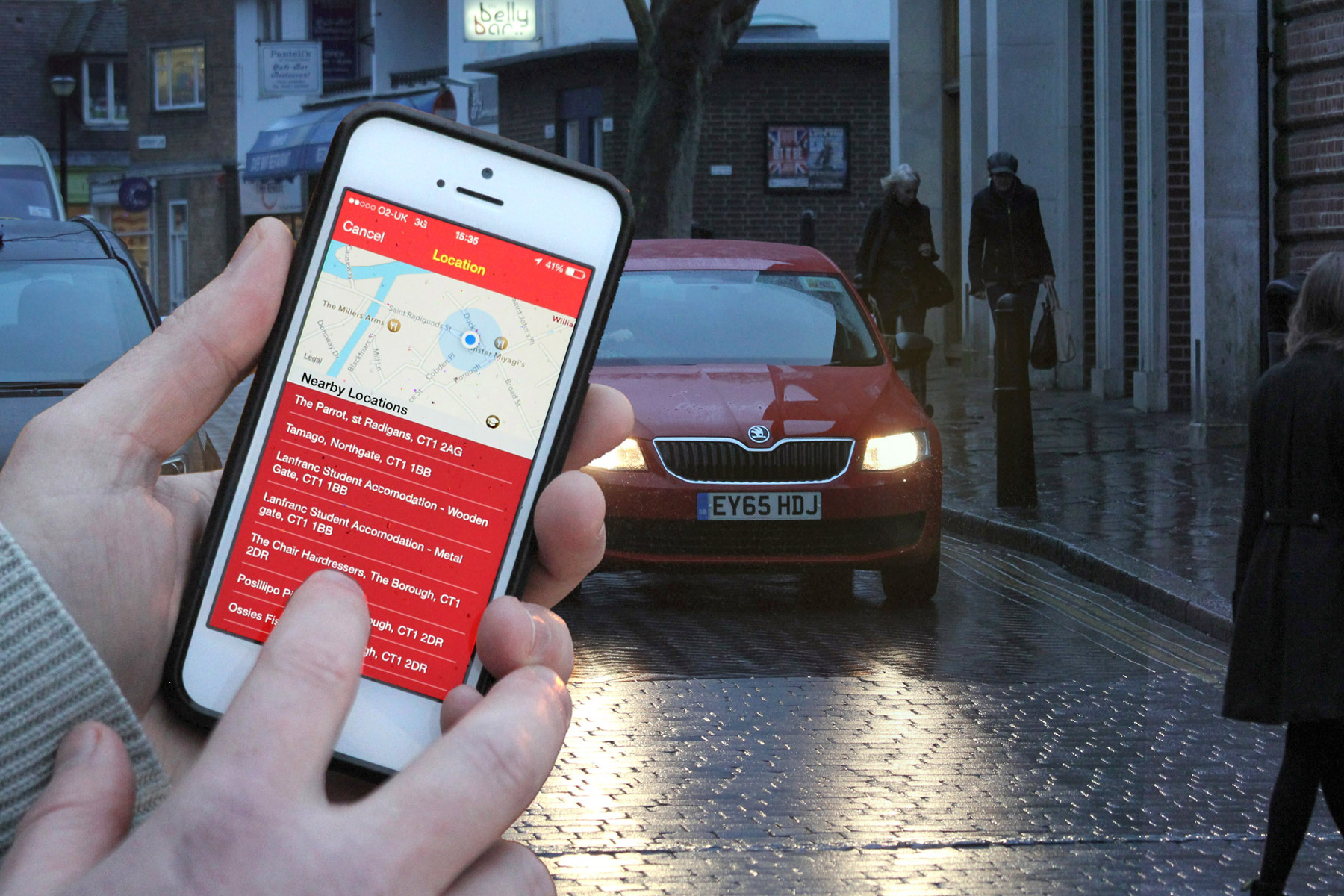 New service lets your friends and family track your cab