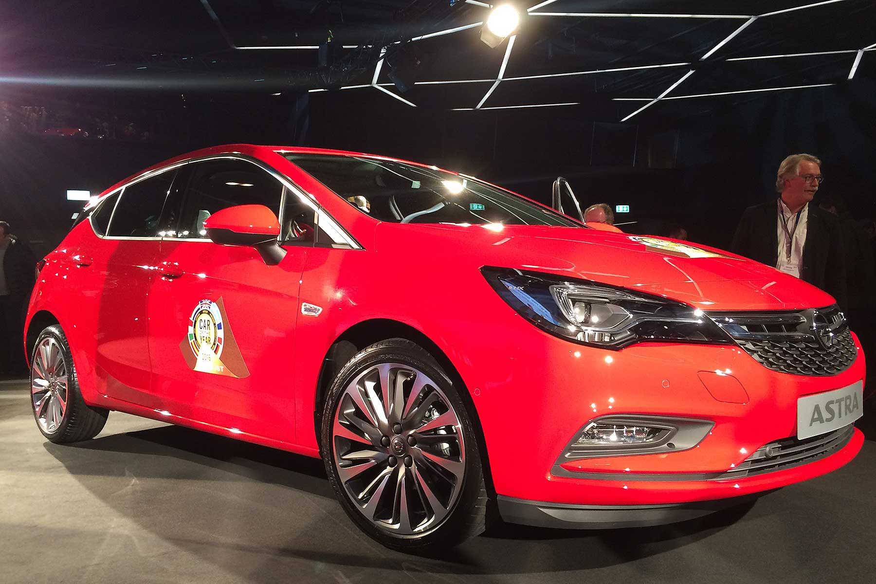 Vauxhall Astra COTY 2016