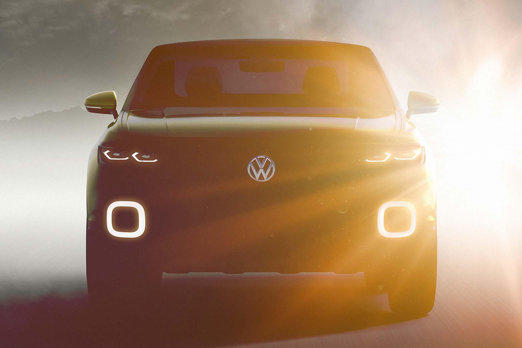 Volkswagen T-Cross Geneva 2016 SUV concept