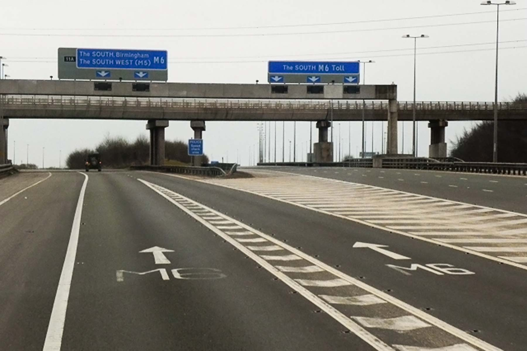 M6 and M6 Toll