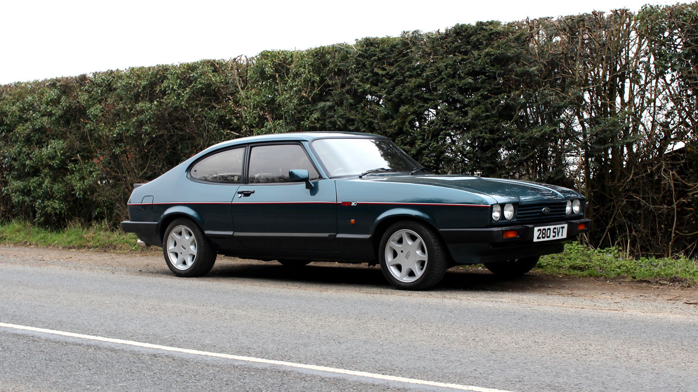 Ford Capri 280 Brooklands Retro Road Test Motoring