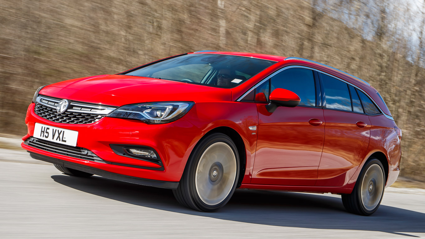 vauxhall astra sports tourer 1 6t 200hp two minute road test motoring research. Black Bedroom Furniture Sets. Home Design Ideas