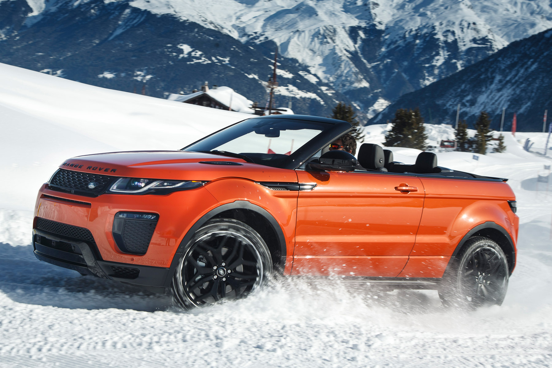 2016 range rover evoque convertible review first drive. Black Bedroom Furniture Sets. Home Design Ideas