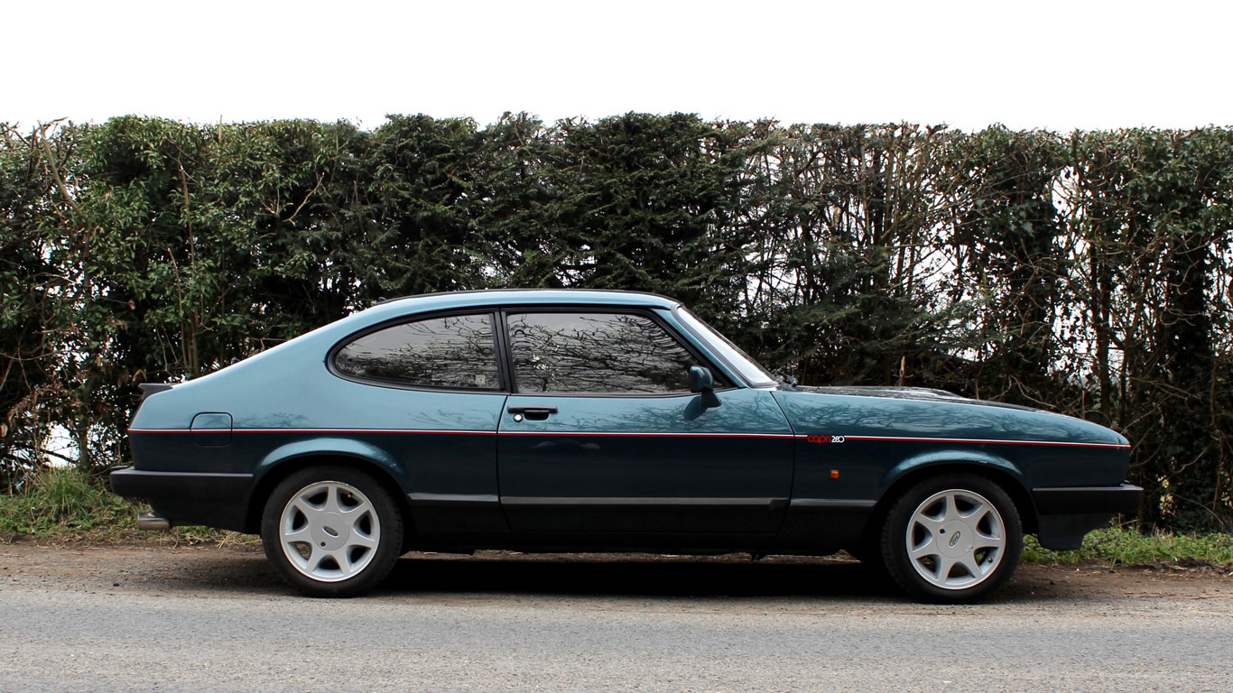 Ford Capri 280 'Brooklands': Retro Road Test | Motoring ...