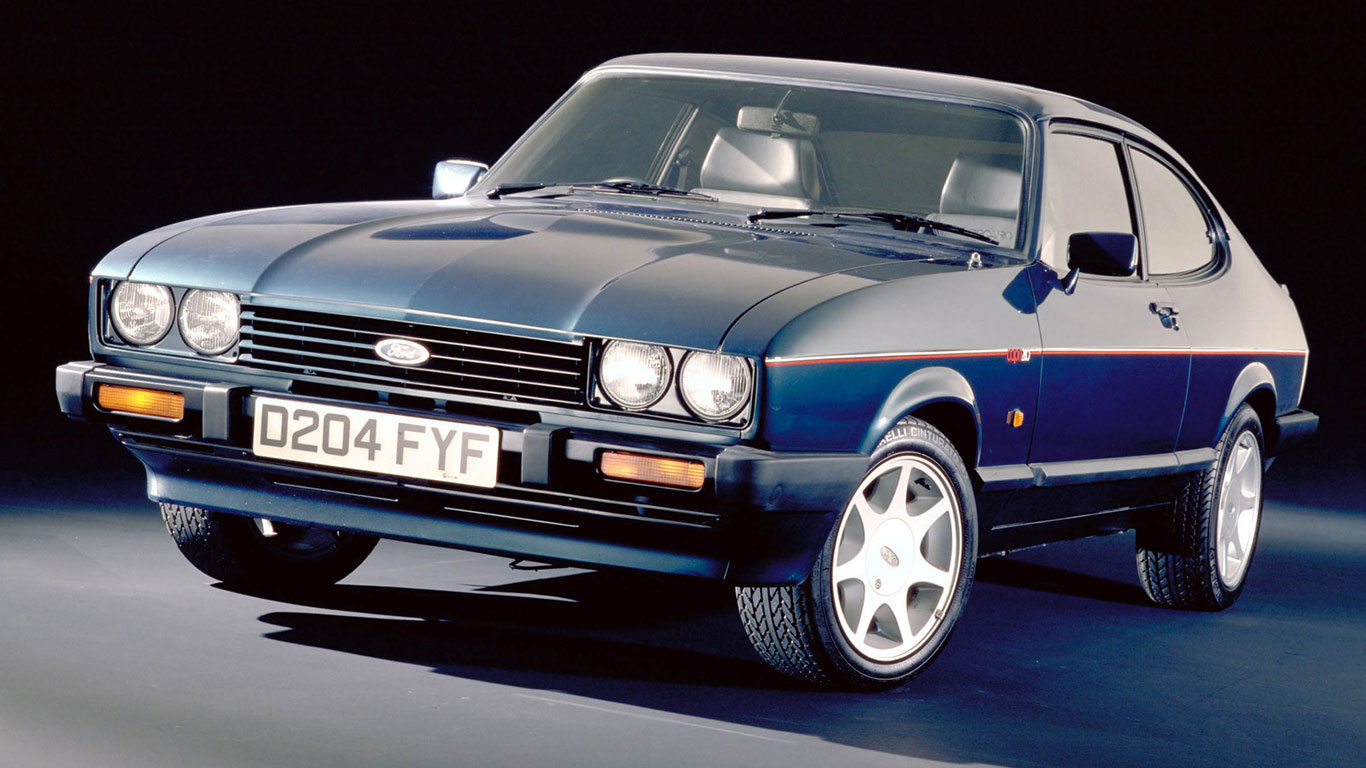 Build A Ford >> Ford Capri 280 'Brooklands': Retro Road Test | Motoring Research