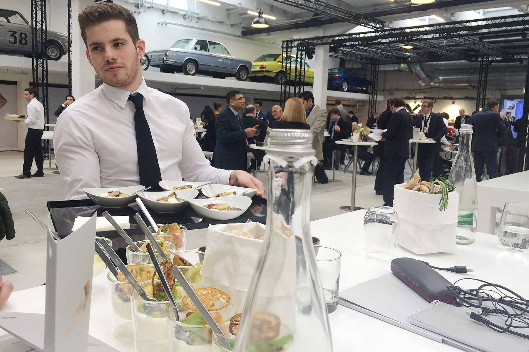 BMW Next 100 lunch