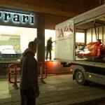 H.R. Owen Ferrari F1 car swap