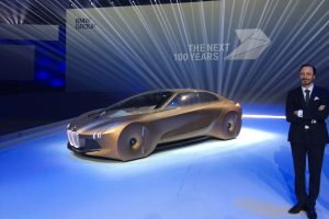 BMW Vision Next 100 concept car revealed on 100th anniversary – with video and exclusive picture