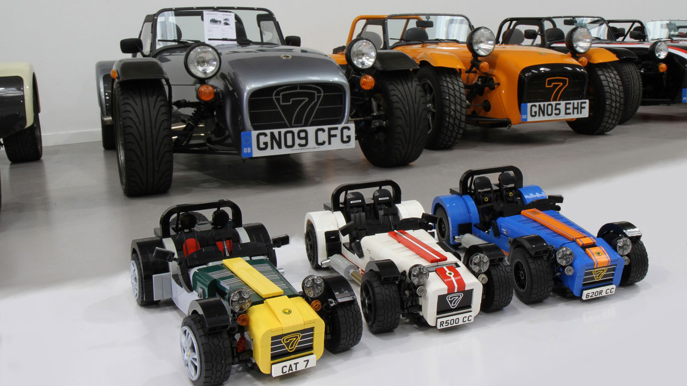 is the lego caterham seven the ultimate self assembly toy motoring research. Black Bedroom Furniture Sets. Home Design Ideas