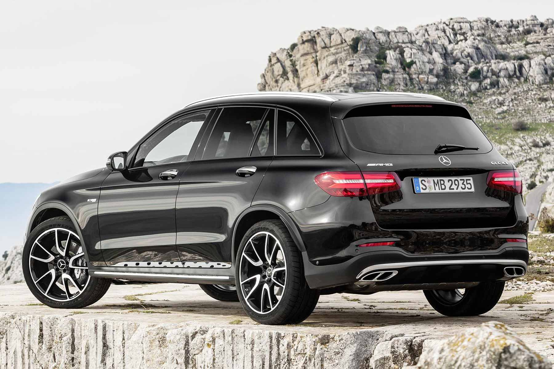 mercedes amg glc 43 367hp amg suv to debut at nyias 2016. Black Bedroom Furniture Sets. Home Design Ideas