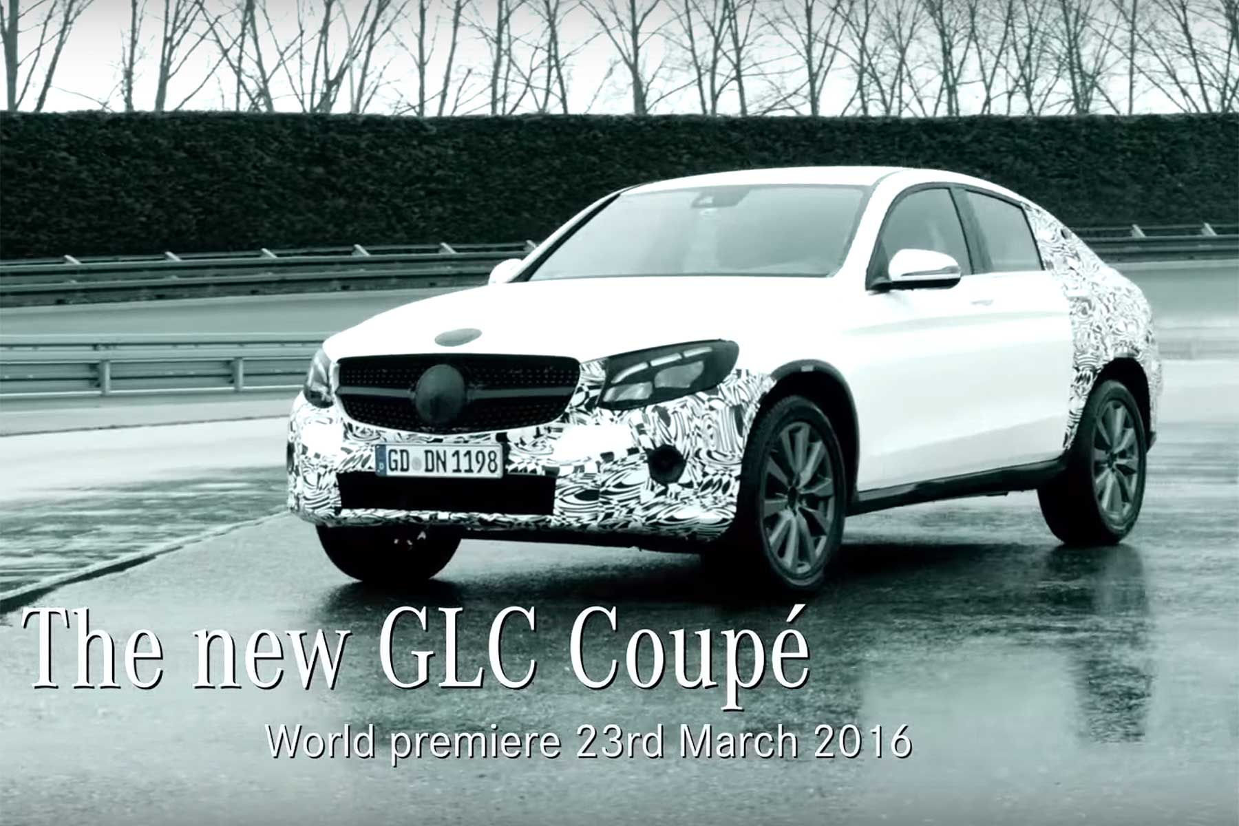 Mercedes-Benz GLC Coupe teaser