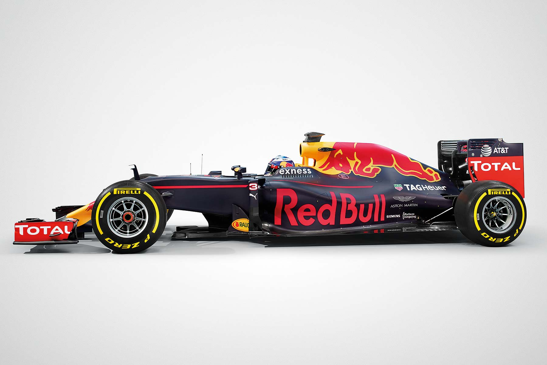 Red Bull Racing RB12 Ricciardo