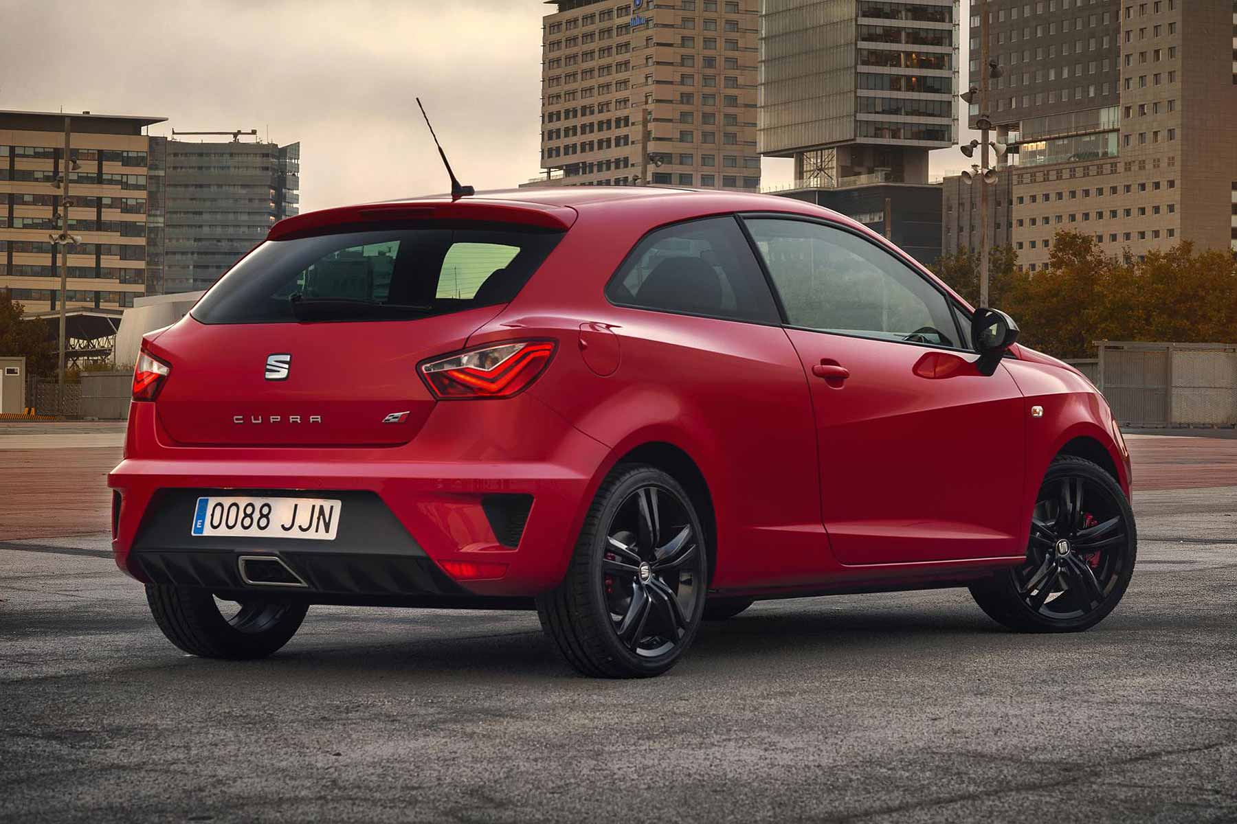 new seat ibiza cupra priced less than car it replaces motoring research. Black Bedroom Furniture Sets. Home Design Ideas