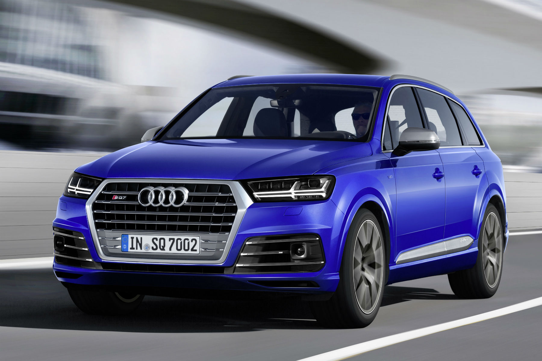 Hot Audi SQ7 revealed: the world's most powerful diesel SUV