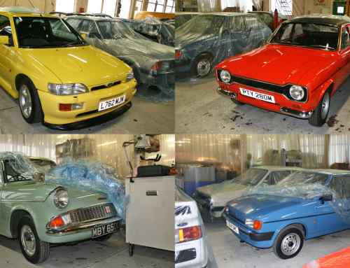 Made in Dagenham: Ford's secret classic car collection