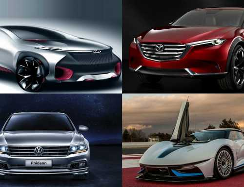 The star cars at the Beijing Auto Show 2016