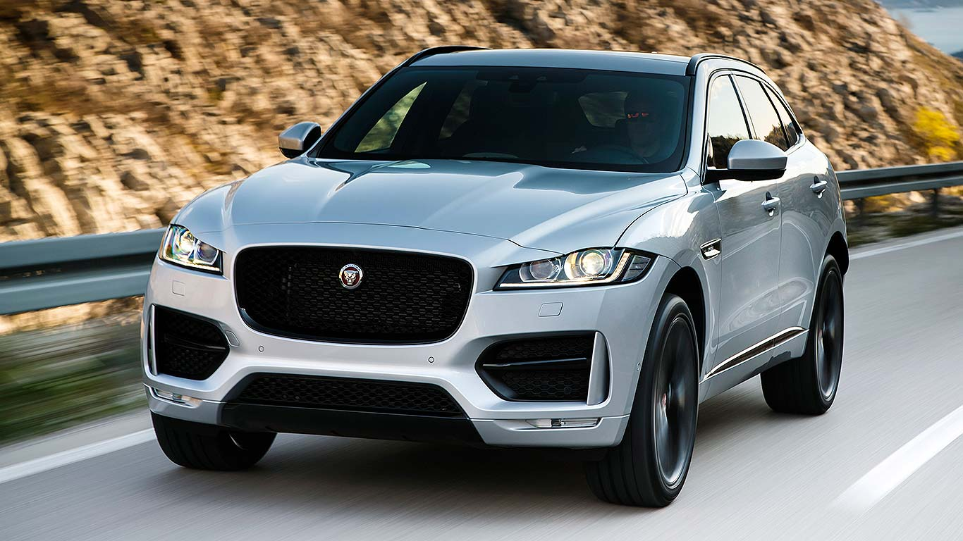 2016 jaguar f pace review right on pace motoring research. Black Bedroom Furniture Sets. Home Design Ideas