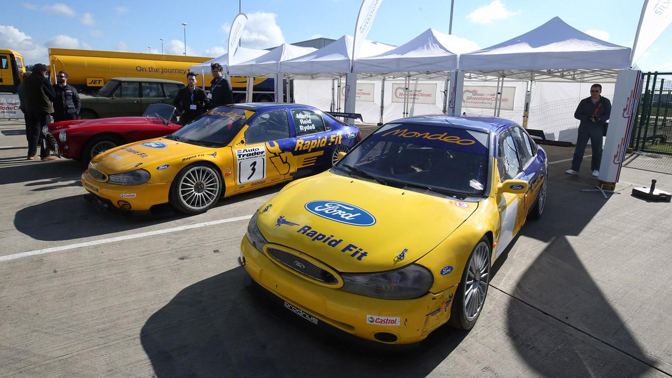 BTCC Ford Mondeos