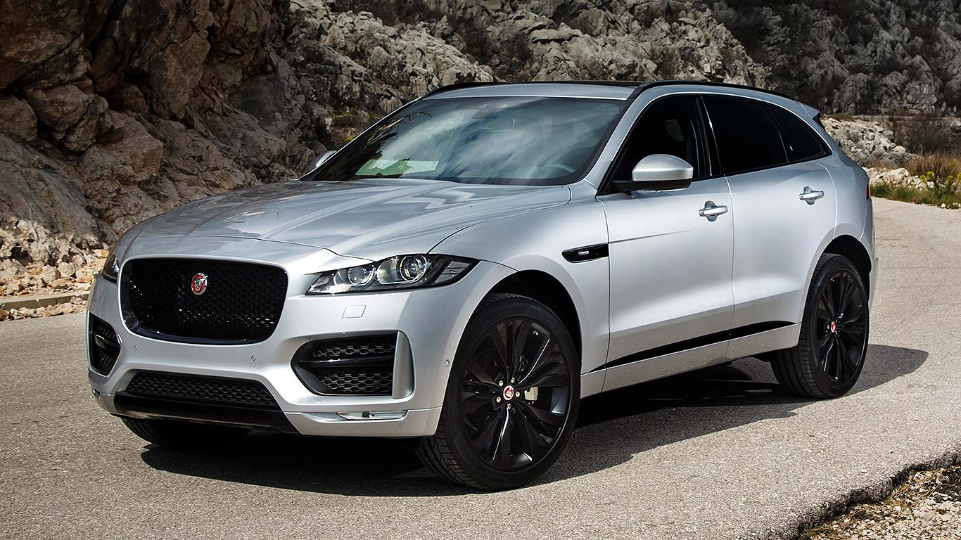 Jaguar F Pace Off Road Suv