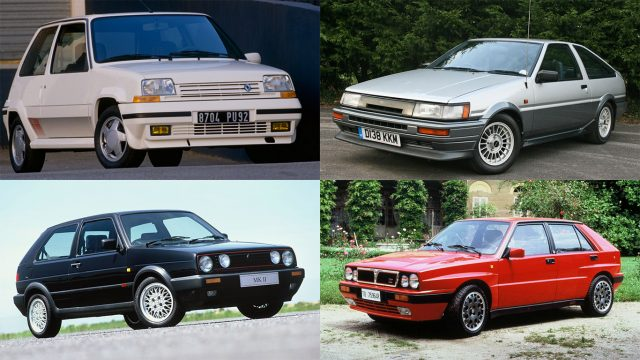 The 20 Greatest Hot Hatches Of The 1980s Motoring Research
