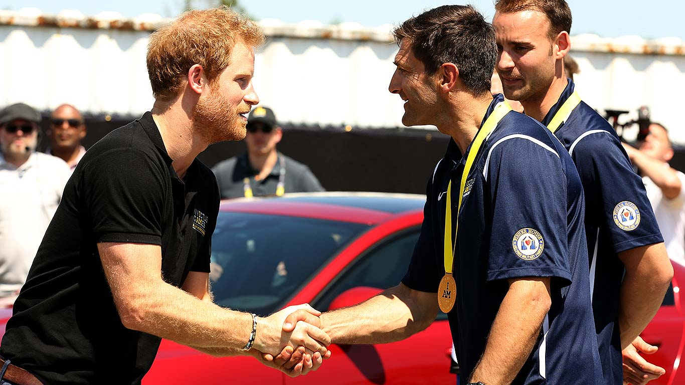 Prince Harry Invictus Games 2016