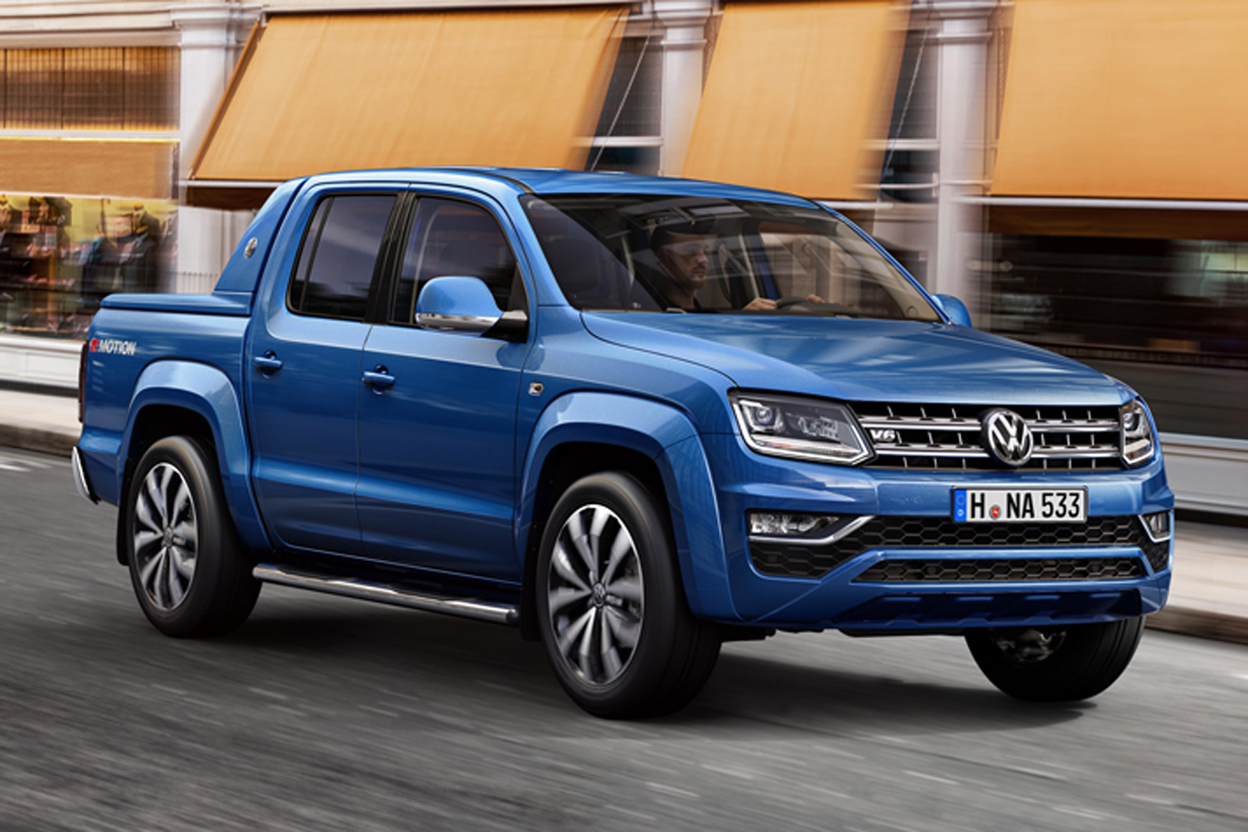 vw s new amarok pick up will hit 62mph in 7 9 seconds motoring research. Black Bedroom Furniture Sets. Home Design Ideas