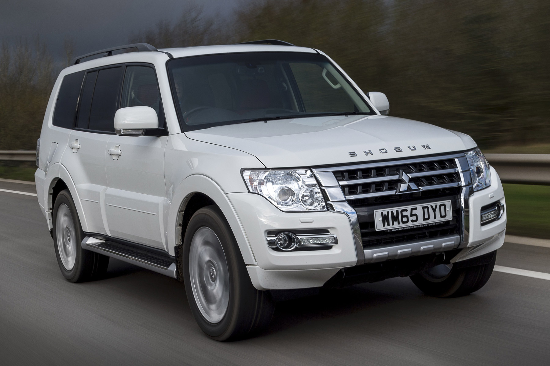 Mitsubishi Shogun: Two-Minute Road Test