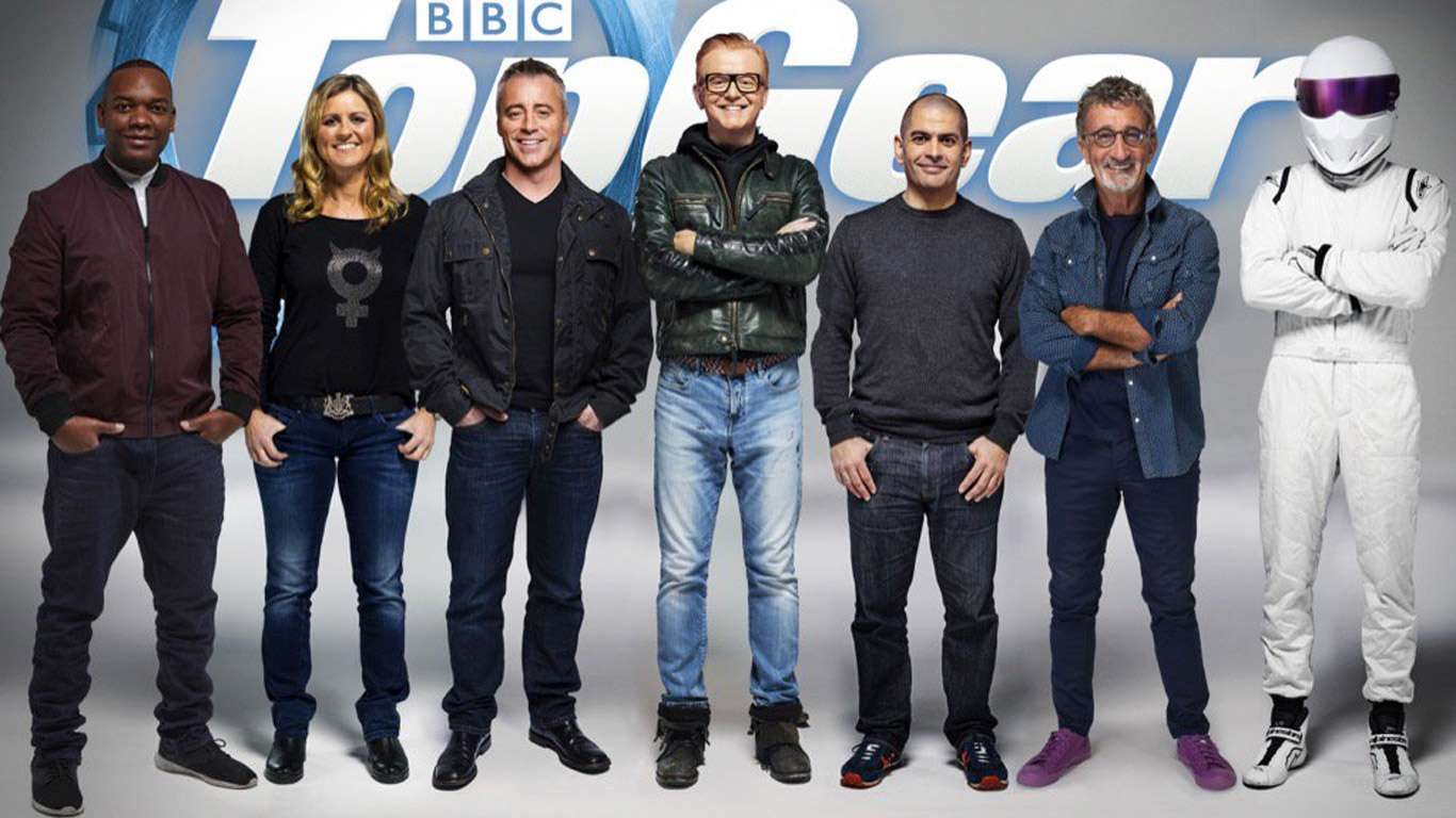 Meet the new Top Gear gang