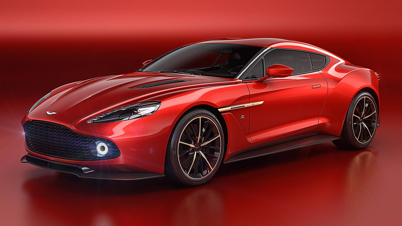 aston martin vanquish zagato revealed the most beautiful aston ever motoring research. Black Bedroom Furniture Sets. Home Design Ideas