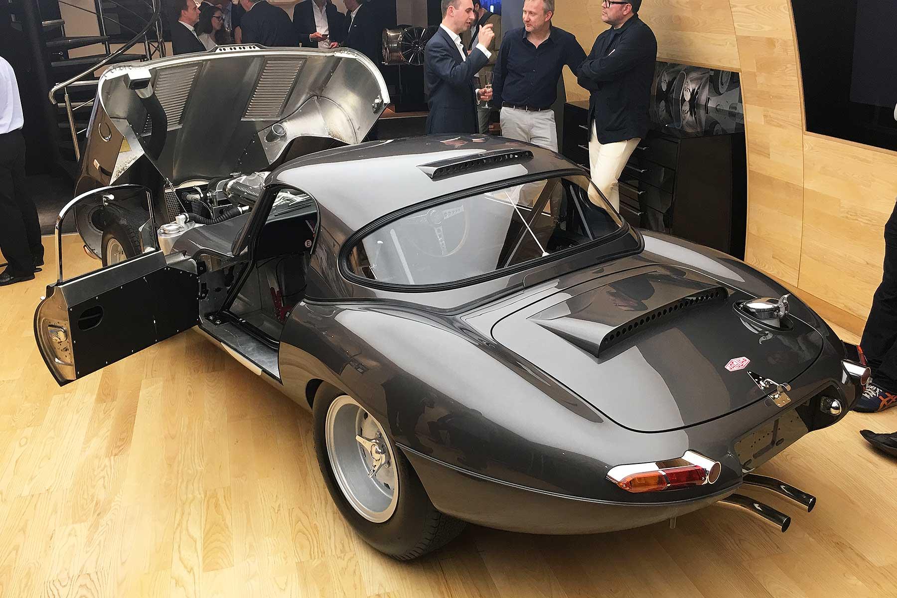Stratstone Jaguar Lightweight E-type