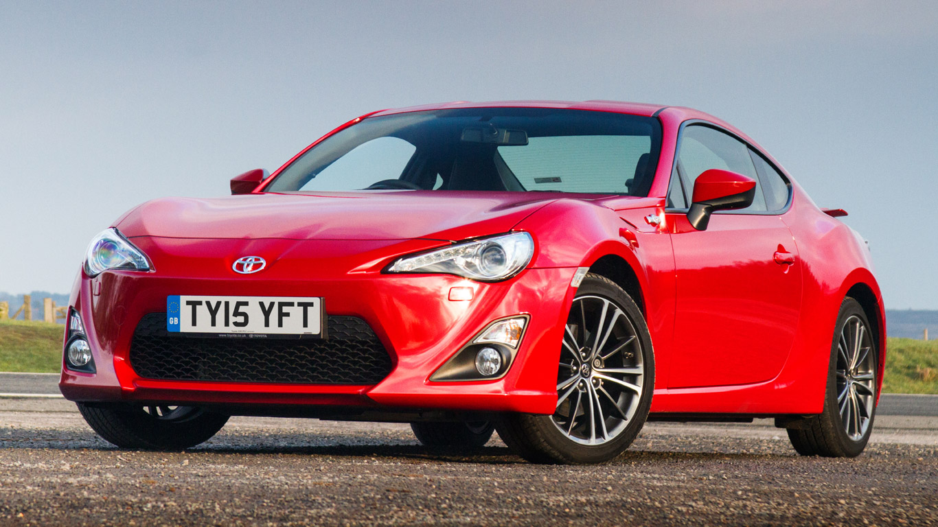 Toyota GT86 Primo: £9.67 a day