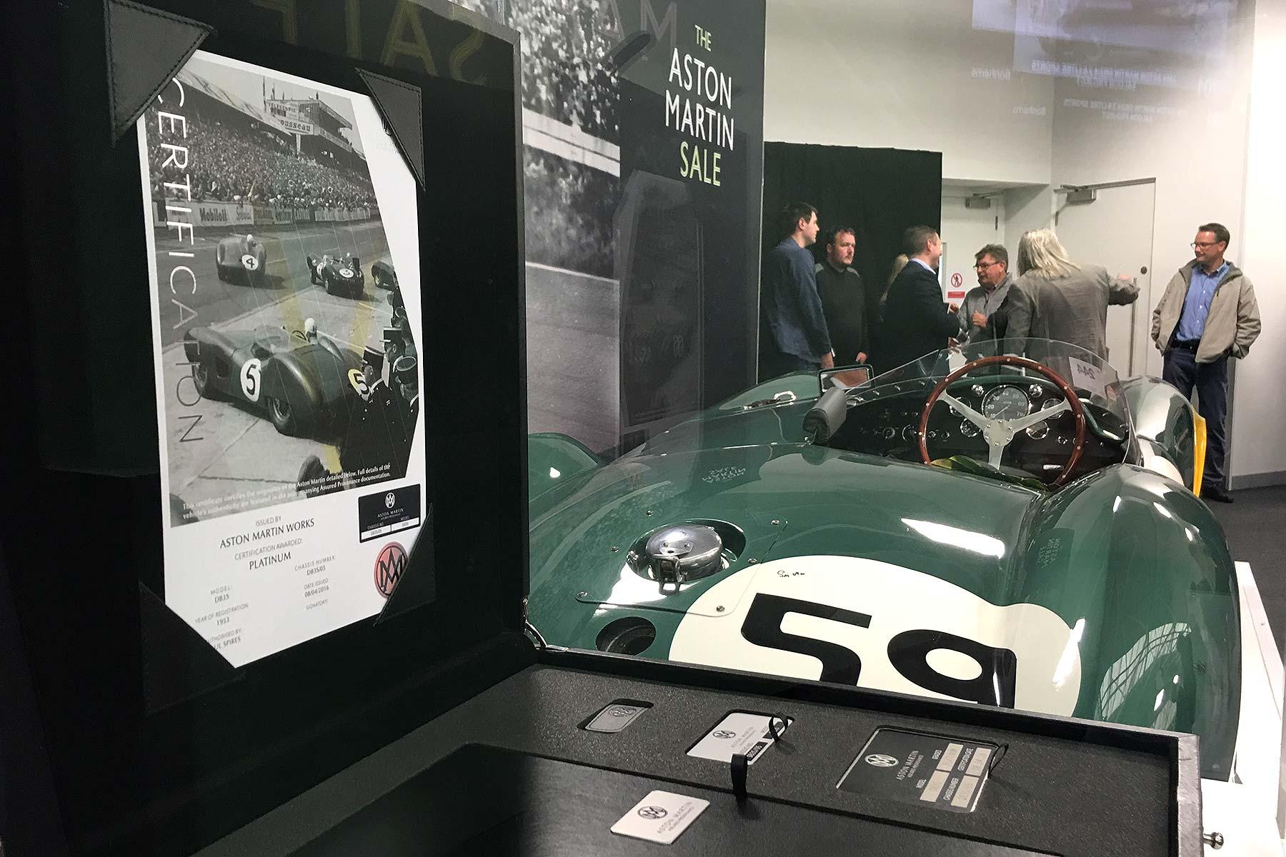 Aston Martin DB3S 1953